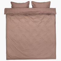 Duvet cover CHRISTEL Percale KNG DBF
